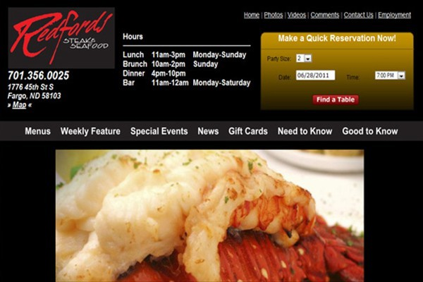 Steak and Seafood Restaurant - Fargo, North Dakota