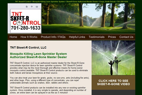 Mosquito Killing Lawn Sprinkler System Dealer - Fargo, North Dakota