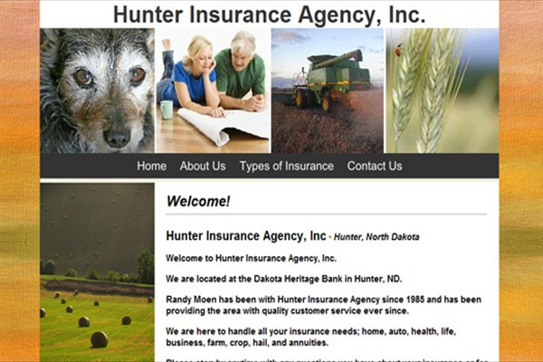 Life-Accident-Health-Crop Insurance Agency - Hunter, North Dakota
