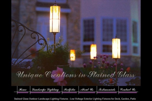 Stained Glass Artist and Landscape Lighting Company - Hawley, Minnesota