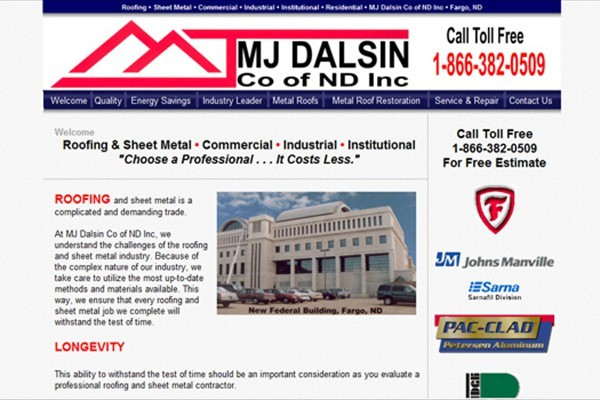 Commercial-Industrial-Institutional Roofing and Sheet Metal Company - West Fargo, North Dakota