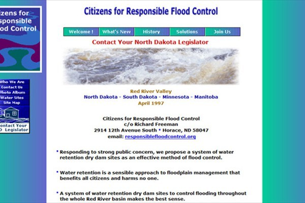 Citizens Flood Control Advisory Group - Fargo, North Dakota