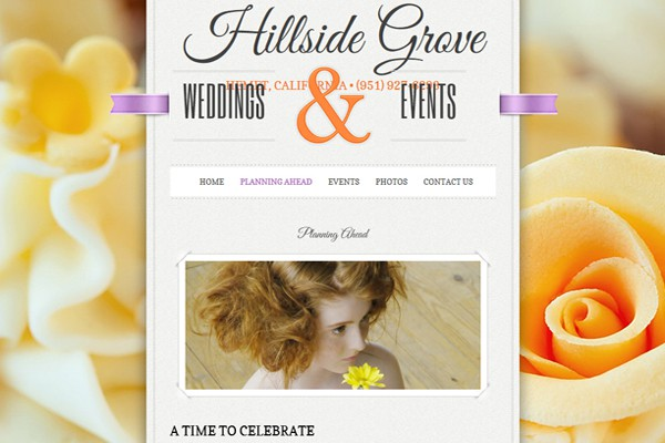 Wedding Venue and Events Center - Hemet, California