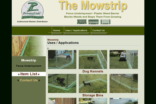 Fence Underlayment and Plastic Weed Barrier Manufacturer - Fargo, North Dakota