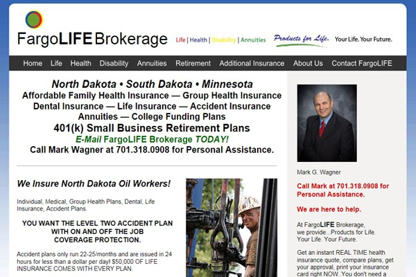 Life-Accident-Health-Retirement Insurance Agency - Fargo, North Dakota