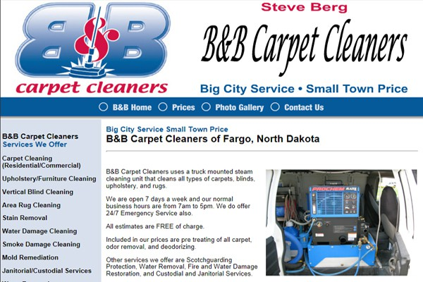 Carpet Steam Cleaning Company - Fargo, North Dakota